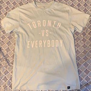 Light blue Toronto vs everybody t shirt